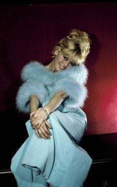 Brigitte Bardot - Bashful In Blue.