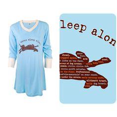 Sleepshirt Blue now featured on Fab.