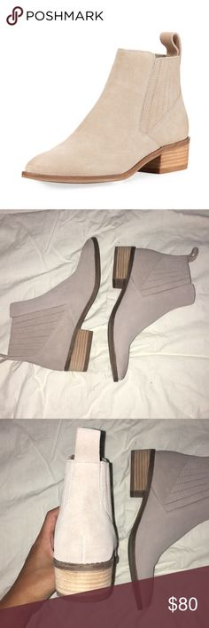 """Dolce vita tawny suede Chelsea boots Chelsea style boots. 1.8"""" flat heel. Pull tab at backstay. Padded footbed. Suede. BRAND NEW. NEVER WORN. Dolce Vita Shoes Ankle Boots & Booties"""