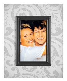 Take a look at this Barnwood Gray Layered Border Picture Frame by New View on #zulily today!