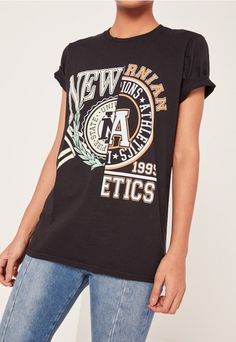 MISS GUIDED NY SPLICE TEE £15
