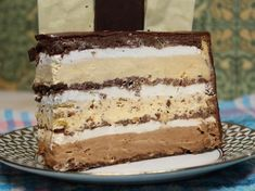 Grandisimo torta - na drugi način Brze Torte, Posne Torte, Kolaci I Torte, Baking Recipes, Cookie Recipes, Dessert Recipes, Desserts, Bajadera Recipe, Funny Birthday Cakes