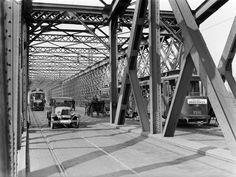 Warszawa w latach międzywojennych - most Kierbedzia