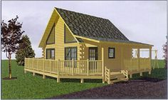 Ironwood Cheap Log Cabin Kits Prices Exterior