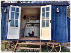 Compass Corner Shepherds Hut Gypsy Caravan, Gypsy Wagon, Garden Sink, Old Campers, Shepherds Hut, Chuck Wagon, Gypsy Style, Tiny Homes, Glamping