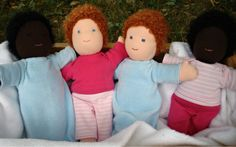 Waldorf Doll Clothing Patterns & Tutorial (includes diaper pattern) - Living Crafts Dolls
