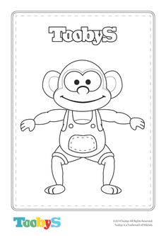 Free Toobys Coloring Sheets!
