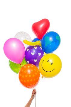"""Ballons surprises """"mystery box"""" ! Dans chaque pack, 12 ballons au design différent mais toujours pop et pétillant."""