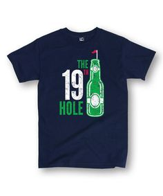 Loving this Navy 'The 19th Hole' Tee