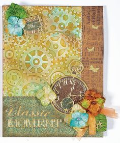 Gears and Framed Floral Embossing Folders - 16 February 2016 - outside