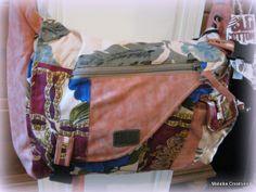 Old Cotton Cargo schoudertas Harem 1591 zalm | ♥ Old Cotton Cargo Handgemaakte tassen | Malaika Creatives