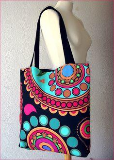 Tote bage Fun Paysley rainbow Tote bag/ yoga bag beach Yoga Bag, Reusable Tote Bags, Rainbow, Bag, Rainbows, Rain Bow