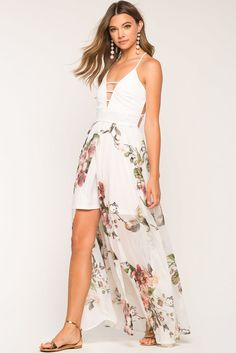 Luscious Floral Maxi