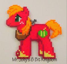 MLP Big Macintosh perler beads by Mr. Jolly's 8 Bit Kingdom
