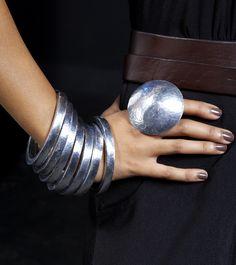 Recycled rings and bracelets  www.adeledejak.com