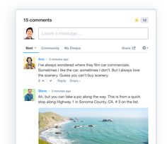 WOW - great tool for adding comments to any site and creating an active community around your topic! Disqus – The Web's Community of Communities