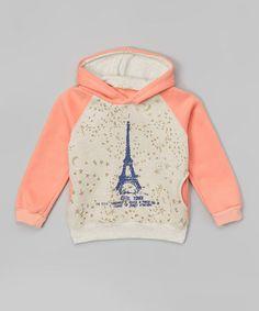 Pink Fleece Eiffel Tower Hoodie - Infant, Toddler & Girls #zulily #zulilyfinds