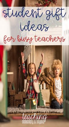 I love these different ideas for student gifts at Christmas. Affordable gifts are often hard to find. I've used #9 many times before and students have always loved it!