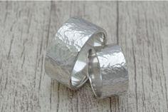 Trauringe, Eheringe, Freundschaftsringe aus Silber von Schmuck-Batih auf DaWanda.com