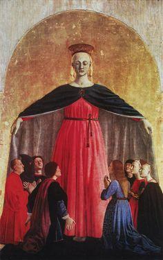 ❤ -  PIERO DELLA FRANCESCA - (1415 - 1492) - Madonna della Misercordia.