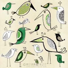 ©Richard Faust - 'Bird Pattern' www.richardfaust.com