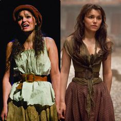 les mis movie vs stage Eponine costume stage is way better. Broadway Costumes, Theatre Costumes, Movie Costumes, Musical Theatre, Cool Costumes, Les Miserables Funny, Les Miserables Costumes, Les Mis Movie, Hadley Fraser