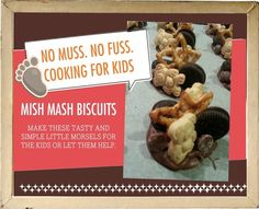 Fun cookies that are so easy to make, the kids can create them.