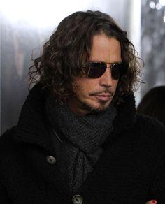 Chris Cornell - 'American Hustle' Premieres in NYC #chriscornell #audioslave #soundgarden