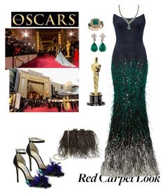 """""""And the Winner is...🏆🏆🍾"""" by parnett ❤ liked on Polyvore featuring Elizabeth Kennedy, Jimmy Choo and Kate Spade"""