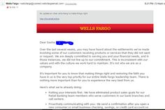 Lavoro Bologna  #lavoro #Bologna #lavoroBologna #bakecalavoro Wells Fargo Sent Me An Email At 8pm On Friday Night...