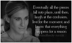 """Gotta love Ms Carrie Bradshaw and her wisdom of love""- last pinner. Well, thank u. Yes, I am very wise :) City Quotes, Movie Quotes, Funny Quotes, Sex Quotes, Great Quotes, Quotes To Live By, Inspirational Quotes, The Words, Carrie Bradshaw Quotes"