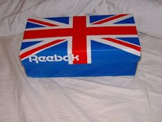 Reebok shoe box from the 80s