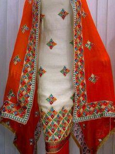 Phulkari suit