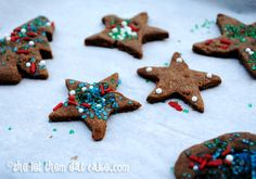 Gingerbread Cookies – Gluten-Free, Dairy-Free & Egg-Free