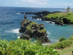 Road to Hana (Hana Highway) in East Maui, North Shore, HI