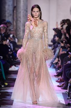 ELIE SAAB  Spring/Summer 2018 collection  HAUTE COUTURE