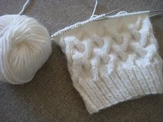 Pattern can be easily modified for baby size just decreasing number of stitches. You need only 1.2 skein of Alpacana Lanoso and 3.5 cm of 5 Double Pointed Knitting Needles. You can use circular needles as well.