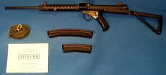 Sterling MK-6 9mm Carbine. Guns And Ammo