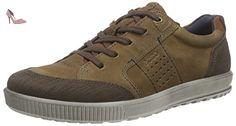 Ecco Ecco Ennio, Derby Homme - Marron (coffee/camel59519), 47 EU - Chaussures ecco (*Partner-Link)