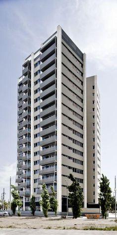 Edificio Plurifamiliar Torre Nord Barcelona. Arquitectura y diseño