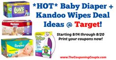 *HOT DEALS* If you are in need of Diapers!!!!! FREE $25 Target Gift Card with Select Baby Purchase of $100+ Target Coupon + DEALS ~ Starting 8/14!  Click the link below to get all of the details ► http://www.thecouponingcouple.com/free-25-target-gift-card-with-select-baby-purchase-of-100-target-coupon-deals-starting-814/ #Coupons #Couponing #CouponCommunity  Visit us at http://www.thecouponingcouple.com for more great posts!