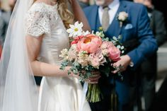 Pale Pink, Gold and Elegant Lace for a Vintage Wedding in Scotland | Love My Dress® UK Wedding Blog