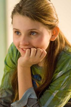 Abigail Breslin. Little Miss Sunshine, My Sister's Keeper. She's so young and she rocks.