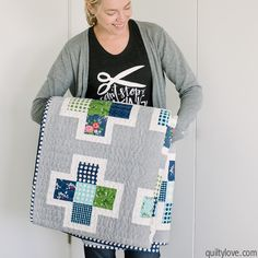 plus quilt Archives - Quilty Love Quilting Tutorials, Quilting Projects, Quilting Designs, Sewing Projects, Art Quilting, Modern Quilting, Quilting Tips, Sewing Crafts, Charm Pack Quilts