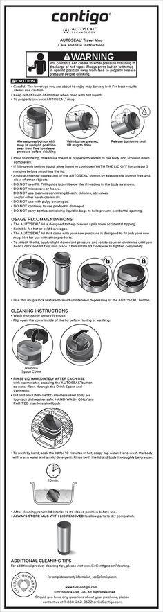Care & Use Guide Stainless Steel Travel Mug, Drinkware, Matte Black, Kitchen Appliances, Mugs, Diy Kitchen Appliances, Tumbler, Home Appliances, Tumblers