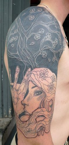 Tattoo by Lea Nahon