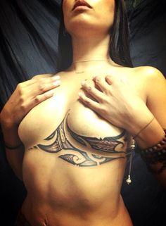 Chest tattoo by Joel Albanez of Soul Signature Tattoo in Oakland, CA and Honolulu, HI. www.soulsignature... [p-ink.org]
