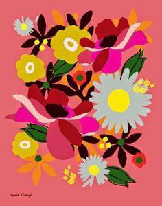 print & pattern blog - Esty Art Month : Dewey Howard