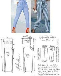 Best 6 FREE PATTERN ALERT: Pants and Skirts Sewing Tutorials – On the Cutting Floor: Printable pdf sewing patterns and tutorials for women – SkillOfKing.Com Diy Clothing, Clothing Patterns, Dress Patterns, Sewing Pants, Sewing Clothes, Fashion Sewing, Diy Fashion, Easy Sewing Patterns, Sewing Tutorials