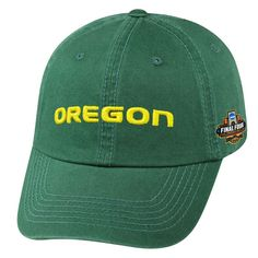 ca04ef1aad7 Oregon Ducks Top of the World 2017 NCAA Men s Basketball Tournament Final  Four Bound Midwest Regional Champions Crew Adjustable Hat - Green